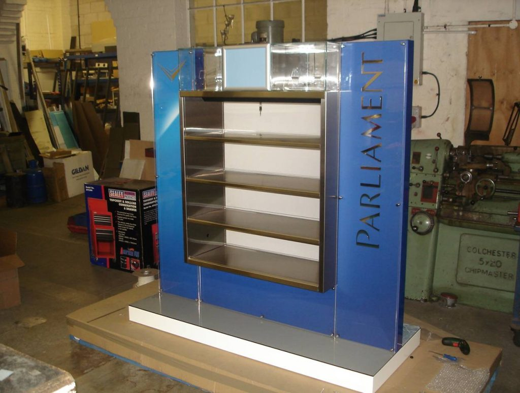precision sheet metal work product stand
